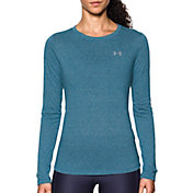 Under Armour Women's Threadborne Twist Print Crewneck Long Sleeve Shirt