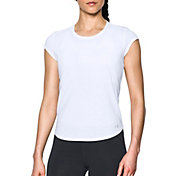 Under Armour Women's Threadborne Run Mesh Sportstyle T-Shirt