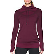 Under Armour Women's Threadborne Seamless Funnel Neck Long Sleeve Shirt