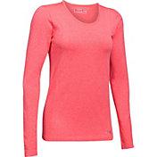 Under Armour Women's Threadborne Seamless Heathered Long Sleeve Shirt