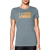 Under Armour Women's Threadborne Graphic Twist Sportstyle Crew T-Shirt