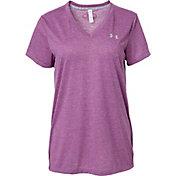 Under Armour Women's Threadborne Train Heather Print T-Shirt
