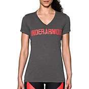 Under Armour Women's Threadborne Siro Graphic V-Neck T-Shirt