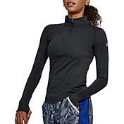 Under Armour Women's Threadborne Microthread Swyft 1/2 Zip Long Sleeve Shirt