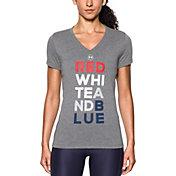 Under Armour Women's Freedom V-Neck T-Shirt