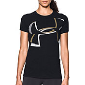 Under Armour Women's Exploded Logo Crew Shirt