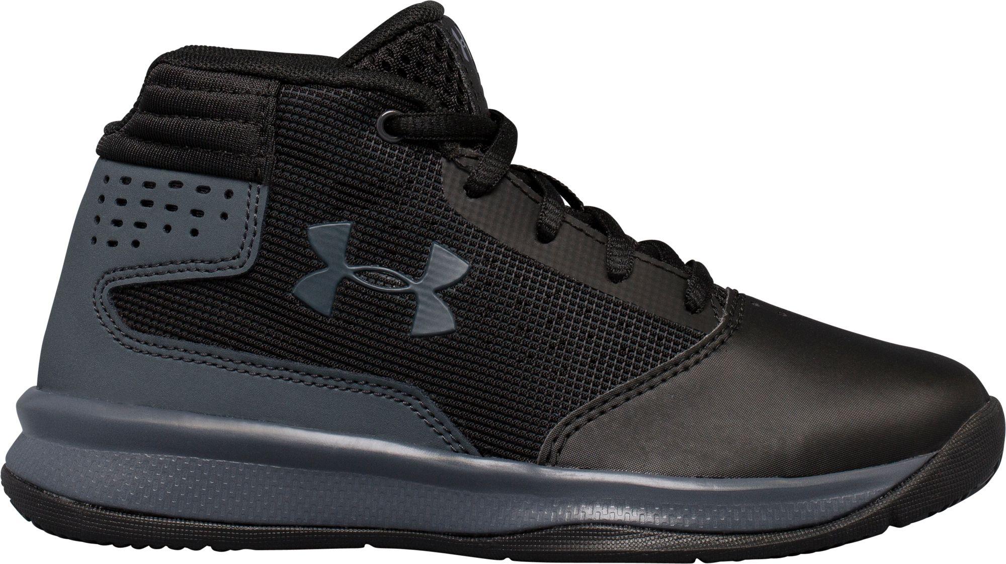 Sous Les Chaussures De Basket-ball De Jet Préscolaire Pour Enfants D'armure kKJF8r