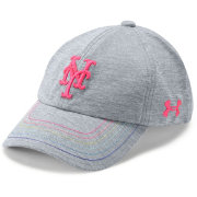 Under Armour Youth Girls' New York Mets Twisted Renegade Adjustable Hat