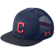 Under Armour Youth Cleveland Indians Twist Knit Adjustable Snapback Hat