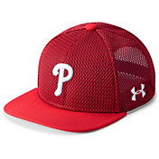 Under Armour Youth Philadelphia Phillies Twist Knit Adjustable Snapback Hat