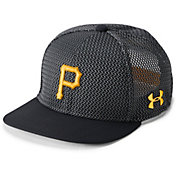 Under Armour Youth Pittsburgh Pirates Twist Knit Adjustable Snapback Hat