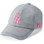 Under Armour Youth Girls' Colorado Rockies Twisted Renegade Adjustable Hat