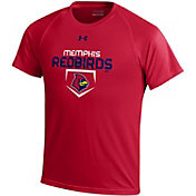 Under Armour Youth Memphis Redbirds Red Tech Performance T-Shirt