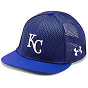 Under Armour Youth Kansas City Royals Twist Knit Adjustable Snapback Hat