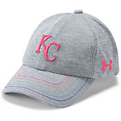 Under Armour Youth Girls' Kansas City Royals Twisted Renegade Adjustable Hat