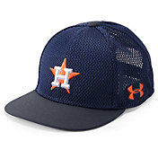 Under Armour Youth Houston Astros Twist Knit Adjustable Snapback Hat