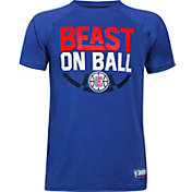 "Under Armour Youth Los Angeles Clippers ""Beast On Ball"" Royal Tech Performance T-Shirt"