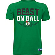 "Under Armour Youth Boston Celtics ""Beast On Ball"" Kelly Green Tech Performance T-Shirt"