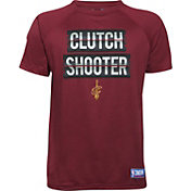 """Under Armour Youth Cleveland Cavaliers """"Clutch Shooter"""" Burgundy Tech Performance T-Shirt"""