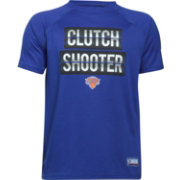 "Under Armour Youth New York Knicks ""Clutch Shooter"" Royal Tech Performance T-Shirt"
