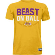 "Under Armour Youth Los Angeles Lakers ""Beast On Ball"" Gold Tech Performance T-Shirt"