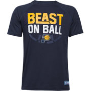 "Under Armour Youth Indiana Pacers ""Beast On Ball"" Navy Tech Performance T-Shirt"