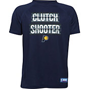"Under Armour Youth Indiana Pacers ""Clutch Shooter"" Navy Tech Performance T-Shirt"