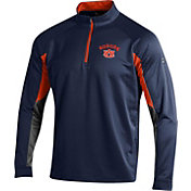 Under Armour Youth Auburn Tigers Blue UA Tech Quarter Zip Shirt