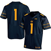Under Armour Youth Cal Golden Bears Blue #1 Replica Football Jersey