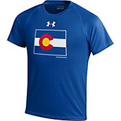 Under Armour Youth Colorado State Rams Colorado State Pride Royal Tech T-Shirt