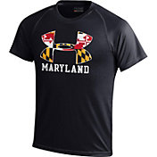 Under Armour Youth Maryland Terrapins 'Maryland Pride' Black Tech T-Shirt