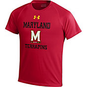 Under Armour Youth Maryland Terrapins Black Tech T-Shirt
