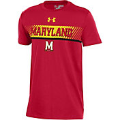 Under Armour Youth Maryland Terrapins Red Off-Shore Deco T-Shirt