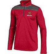Under Armour Youth Maryland Terrapins Red UA Tech Quarter Zip Shirt