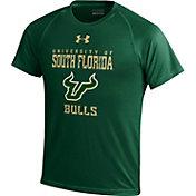 Under Armour Youth South Florida Bulls Green Tech T-Shirt