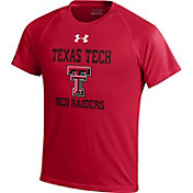 Under Armour Youth Texas Tech Red Raiders Red Tech T-Shirt