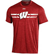 Under Armour Youth Wisconsin Badgers Red Training T-Shirt
