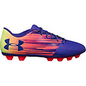 Under Armour Kids' Spotlight DL FG-R Soccer Cleats