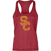 USC Authentic Apparel Women's USC Trojans Cardinal Interlock Tank Top