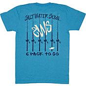 Salt Water Soul Men's 6 Pack To-Go T-Shirt