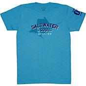 Salt Water Soul Men's Addicted T-Shirt