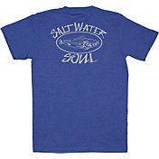 SaltWater Soul Men's Oval Logo T-Shirt