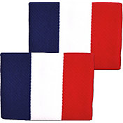 Unique Sports France Flag Soccer Wristbands