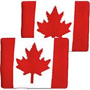 Unique Sports Canada Flag Soccer Wristbands