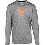 University of Texas Authentic Apparel Men's Texas Longhorns Grey Basken Shock Long Sleeve Shirt