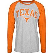University of Texas Authentic Apparel Men's Texas Longhorns Grey/Burnt Orange Byron Long Sleeve Shirt