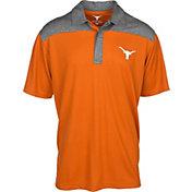 University of Texas Authentic Apparel Men's Texas Longhorns Burnt Orange Gaspar Polo