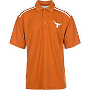 University of Texas Authentic Apparel Men's Texas Longhorns Burnt Orange/White Homer Polo