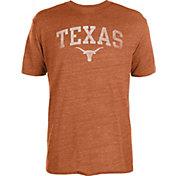 University of Texas Authentic Apparel Men's Texas Longhorns Heathered Burnt Orange Worn Arch T-Shirt