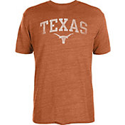 University of Texas Authentic Apparel Men's Texas Longhorns Heathered Burnt Orange Worn Arch T-Shirt